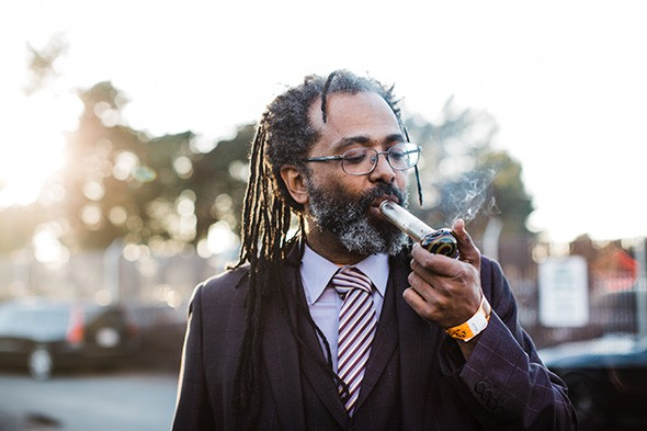 Comedian and cannabis activist Ngaio Bealum - PROVIDED