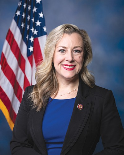 Rep. Kendra Horn hosts a town hall 2-4 p.m. Saturday at Fifth Street Baptist Church, 801 NE Fifth St. - PROVIDED