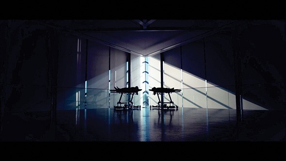 "A scene from Jonathan Shahan's Mono Deux segment, ""InnerScape"" - IMAGE PROVIDED"