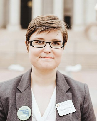 Carly Putnam, Oklahoma Policy Institute's health care policy analyst, said she is optimistic the Legislature will take action this session. - ALEXA ACE