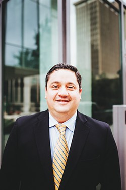 Lawrence Cagigal is the southwest sales manager for Green Growth CPAs, a boutique accounting firm that specializes in cannabis businesses. - ALEXA ACE