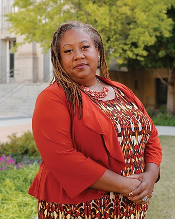 T. Sheri Dickerson of Black Lives Matter said that police must examine the disparity in how races are treated during incidents. - GAZETTE / FILE