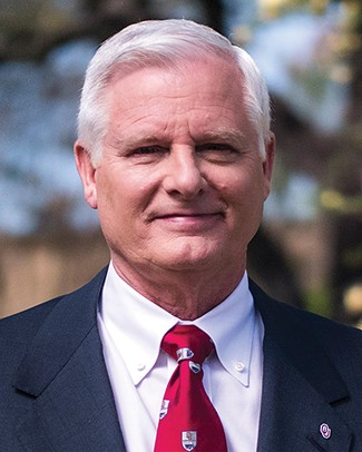 OU president James Gallogly announced his retirement two days after his only spring commencement ceremony. - UNIVERSITY OF OKLAHOMA / PROVIDED