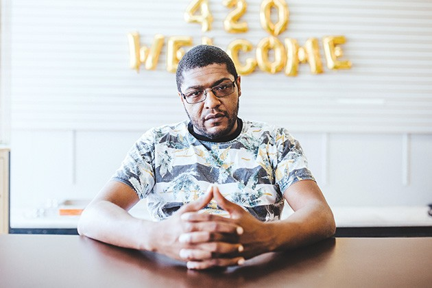 Sam Hill Sr. recently closed Cannabis Aid, one of the first cannabis dispensaries opened in Oklahoma City. - ALEXA ACE