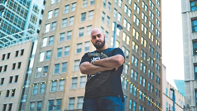 Dallas-based artist Motian performs with several other hip-hop artists with local ties at Homecoming Kingz on Saturday. - PROVIDED