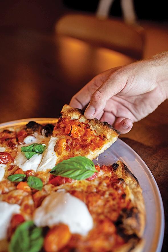 Margherita pizza at Sparrow - ALEXA ACE