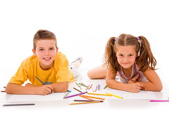 Oklahoma City Pride's green zone features children's activities including coloring. - BIGSTOCK.COM