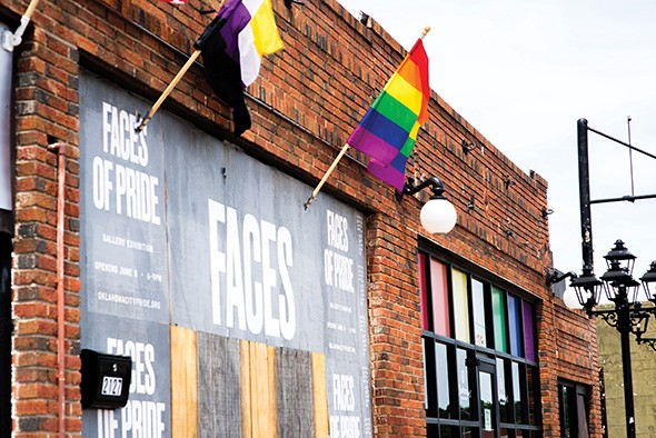Faces of Pride is on display at Wreck Room, 2127 NW 39th St., until June 29. - MIGUEL RIOS