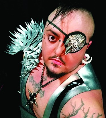 Damian Matrix-Gritte performs 9 p.m. Friday in the Legends & Rebels Showcase on the OKC Pride Main Stage. - PROVIDED