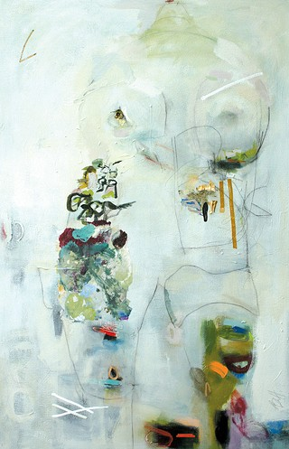 """Frontal"" by Beth Hammack - PROVIDED"