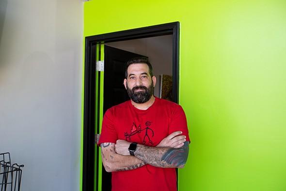 David Liebensohn, owner of Project Releaf - ALEXA ACE