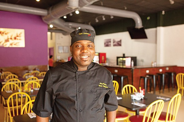 Chef Reuben Carey started Rew Orleans as a catering business before moving it to Uptown 23rd District at the end of June. - ALEXA ACE