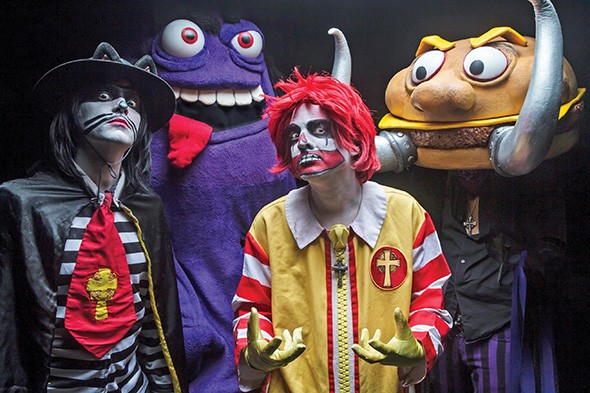 "Mac Sabbath serves up its self-described - ""drive-thru metal"" 8 p.m. July 30 at Tower Theatre - JEREMY SAFFER / PROVIDED"