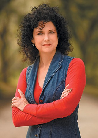 Mary Anna Evans teaches genre fiction at University of Oklahoma. - RANDY BATISTA/ PROVIDED