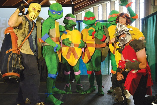 Teenage Mutant Ninja Turtles will make an appearance at the 2019 New World Comic Con. - PROVIDED