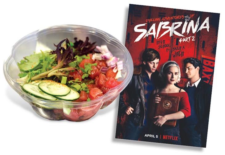 Okie Pokie  | Photo Jacob Threadgill • The Chilling Adventures of Sabrina  | Image Netflix / provided