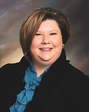 Alicia Priest, Oklahoma Education Association president, said if traditional public schools were funded more adequately, there would be no need for charter schools. - PROVIDED