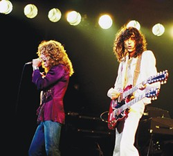Jimmy Page and Robert Plant of Led Zeppelin in 1977 - WIKIMEDIA COMMONS / PROVIDED