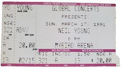 Neil Young played at Myriad Convention Center in 1991. - PROVIDED