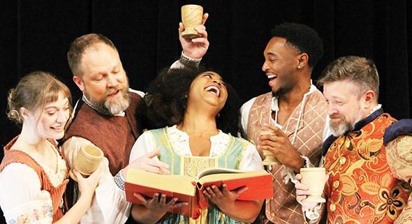 Kate Kemmet, Tyler Woods, Aiesha Watley, Darius Freeman and Chris Rodgers star in The Book of Will. - PROVIDED