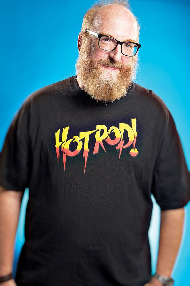 Brian Posehn performs two shows Friday at The Paramount Room. - PROVIDED