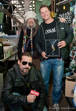 Bobby Black bottom left at the 2013 Amsterdam Cannabis Cup - PROVIDED