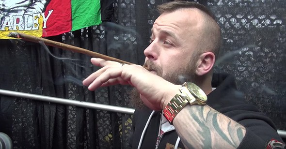 "Jayson ""Giddy Up"" Emo at the 2015 Denver Cannabis Cup - PROVIDED"