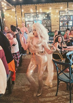 Untapped: A Drag Xperience, sponsored by YesLove OKC, brings drag shows to spaces that do not typically host them. The next show is 9 p.m. Friday at Vanessa House Beer Co. - PROVIDED