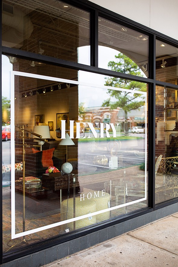 Henry Home Interiors is located in Brookhaven Village in Norman. - ALEXA ACE