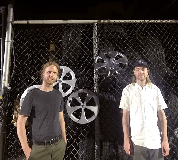 Taylor McKenzie and Stewart Whitmarsh founded Fixed Rhythms record label after discovering the lack of techno and other electronic dance music available at local record stores. - PROVIDED