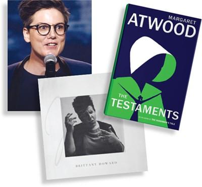 Nanette (Netflix) | Image Netflix / provided • Jaime by Brittany Howard | Image ATO Records / provided • The Testaments by Margaret Atwood | Image - Penguin Random House / provided