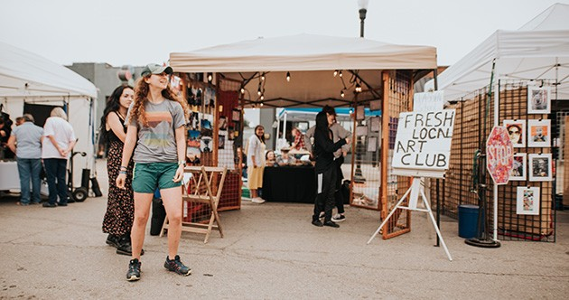 More than 30 local artists will sell paintings, photographs, jewelry, crafts and more. - PROVIDED