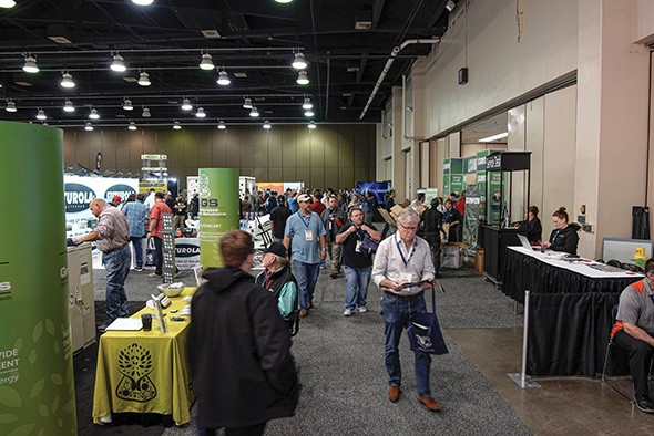 More than 8,000 people attended the first Oklahoma City CannaCon in April. - PROVIDED