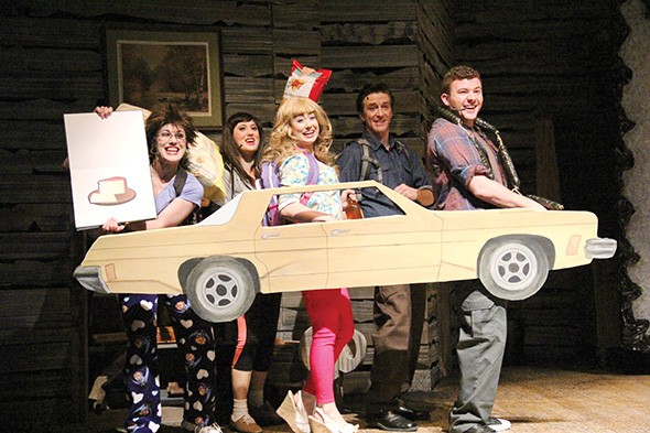 Evil Dead: The Musical, a stage adaptation of Sam Raimi's cult horror-comediy films, runs Friday-Nov. 2 at The Pollard Theatre, 120 W. Harrison Ave., in Guthrie. - PROVIDED