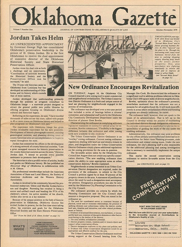 The first issue of Oklahoma Gazette published in October 1979. - PHOTO GAZETTE/FILE