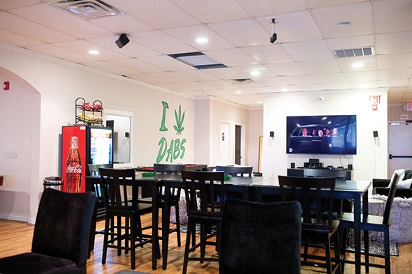 Club Med Lounge recently opened adjacent to UWD in Norman. - ALEXA ACE
