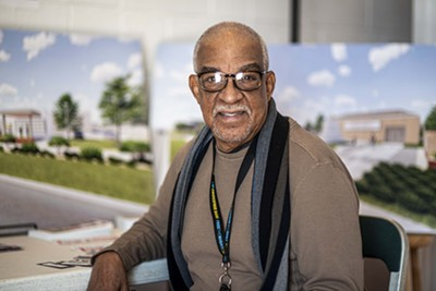 Gary Royal, project manager for Freedom Center and Clara Luper Civil Rights Center, said the centers could transform the area into a cultural hub that spurs more developments. - MIGUEL RIOS