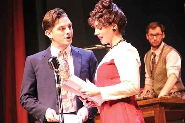 It's a Wonderful Life: A Live Radio Play runs Nov. 29-Dec. 22 at The Pollard Theatre in Guthrie. - PROVIDED
