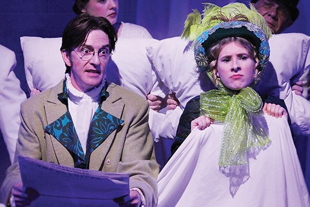 Erin Woods' Jane Austen's Christmas Cracker offers an interactive theatrical holiday party with plenty of literary references Dec. 5-21 at Oklahoma Shakespeare. - PROVIDED