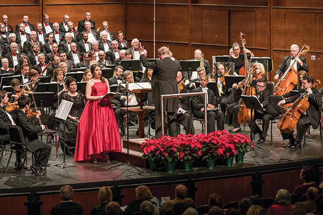 Canterbury Voices presents Handel's Messiah 7 p.m. Dec. 8 at Civic Center Music Hall. - MICHAEL ANDERSON / PERFORMING ARTS PHOTOGRAPHY / PROVIDED