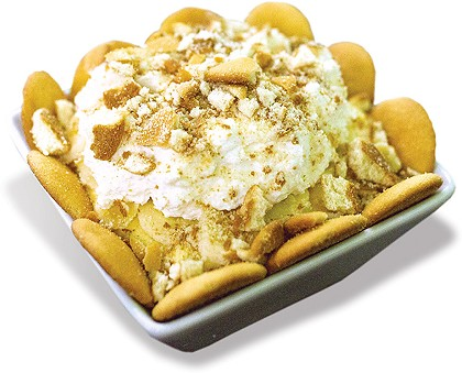 Banana pudding is made to-order at Smoked Out. - ALEXA ACE