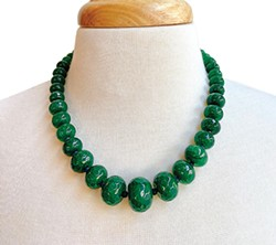 A necklace inspired by Oklahoma's Gypsum Hills region - PROVIDED
