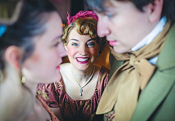 Jane Austen's Christmas Cracker runs Dec. 5-21 at Shakespeare on the Paseo. - DAVID BRICQUET / PROVIDED