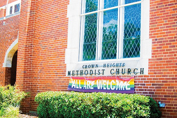 Since the UMC voted to adopt the Traditional Plan in February, three Oklahoma churches, including Crown Heights UMC in Oklahoma City, have joined Reconciling Ministries Network. - MIGUEL RIOS