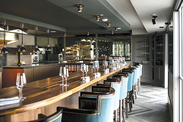 Grey Sweater offers seating around the bar — to watch the kitchen in action — or in its dining area and sits a maximum of 53 people per night. - ALEXA ACE