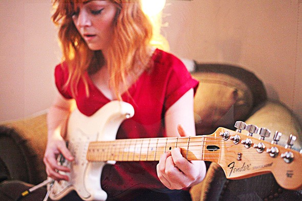 Kinsey Charles will read The Girl Who Sang the Monsters to Sleep and play music from her upcoming album 7 p.m. Dec. 19 at The Paseo Plunge. - MORGAN WARD /PROVIDED