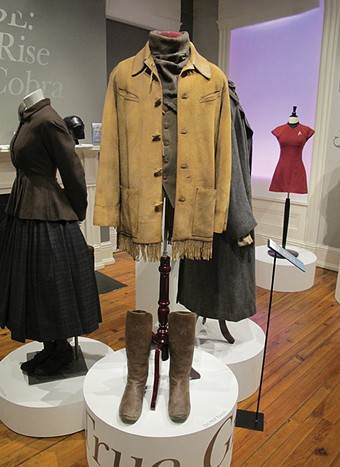 A costume worn by Matt Damon in True Grit (2010), designed by Mary Zophres - PROVIDED