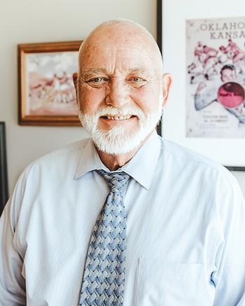 Dan Straughan is executive director of Homeless Alliance. - ALEXA ACE