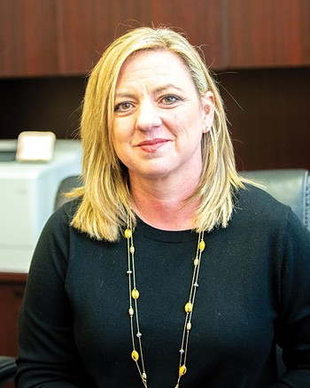 Erin Goodin is CEO and president of City Rescue Mission. - MIGUEL RIOS