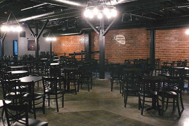 Bricktown Comedy Club can hold 275 people per show in cabaret-style seating. - ALEXA ACE